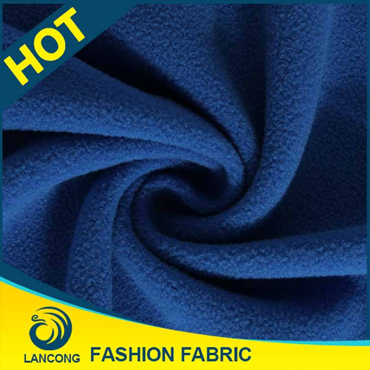 New Products for blanket Elegant dyeing polar fleece fabric