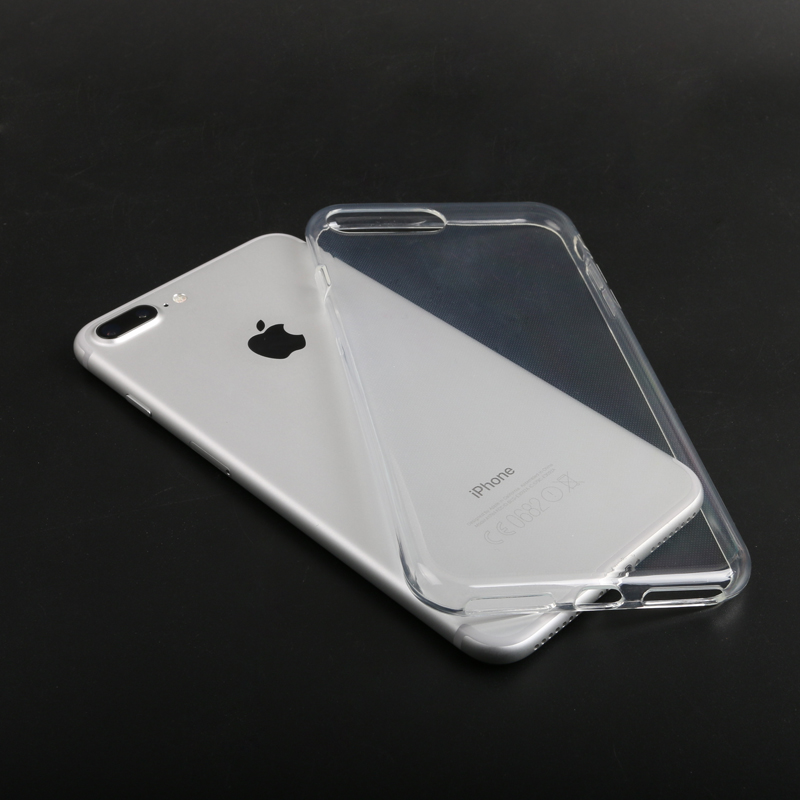 Good quality For Iphone 7 Case Iphone 6s Crystal Gel Case transparent Soft TPU Cases Clear Cases Back Cover Soft Cover