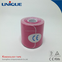 Good quality elastic sports tape Mucle tape Kinesiology tape