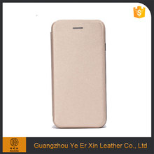 Factory price leather cell phone cover case for iphone 6 6s 7plus