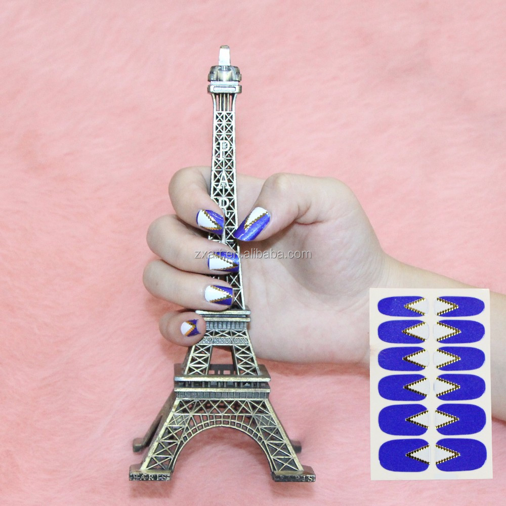 Nail Art Sticker 3D Nail Waves Striping Tape Line Decor Tips