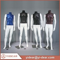 Window Display Colorful Firberglass Men Suit Male Mannequin with Pluz Size