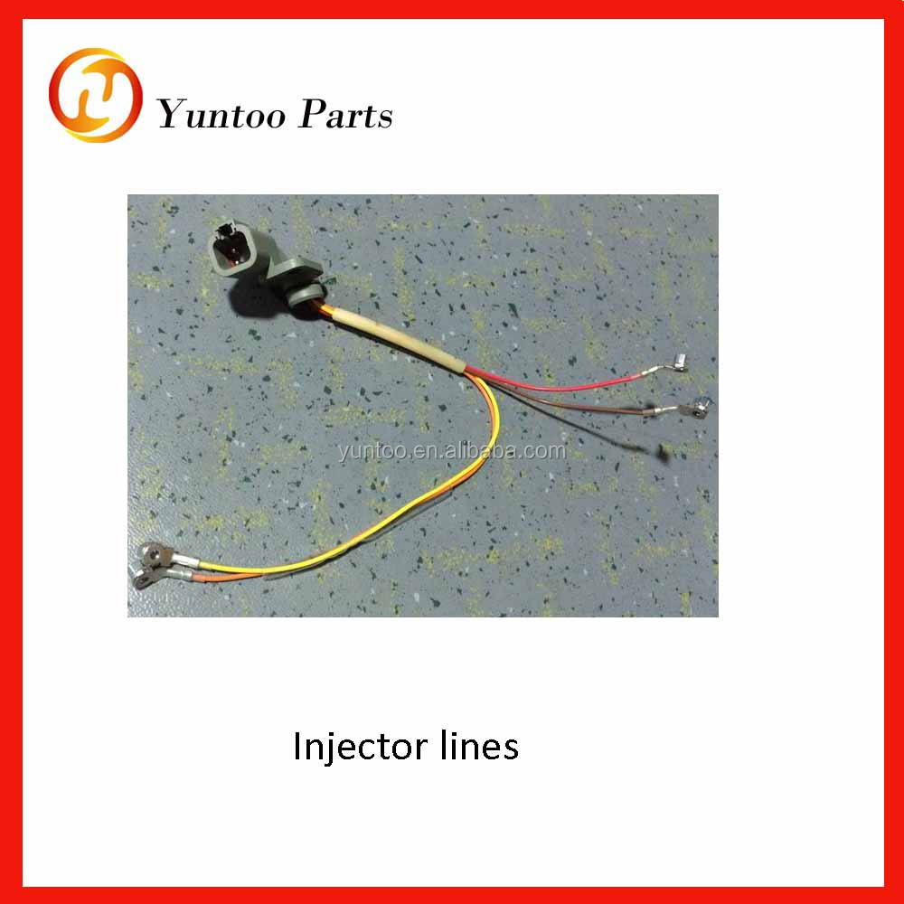 engine ISLE290 41 Injector lines 4001-00703