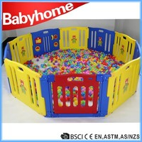 wholesale china factory large baby playpen kids plastic fence