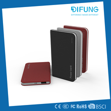 Patent Notebook Design Power Bank 4000mah Lithium polymer battery portable Charger
