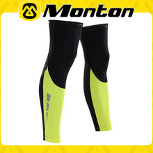 Custom cycling leg sleeve sublimation cycling leg warmers professional plus size arm sleeves wholesale