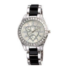 fashion trendy diamond watch chronograph
