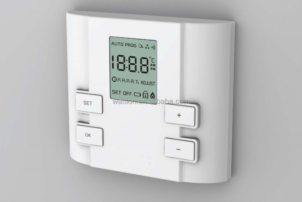 High Quality Lcd Display Heating Digital Room Thermostat