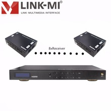HDMI projector signal switcher 4x1 8x1 8x8 HDMI video switcher 4x4 080p 30m over dual cat5e/6 cable;1080p 50m over single cat5e