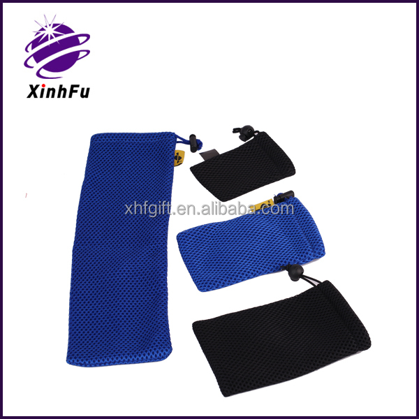 Factory hot new best selling fashion cosmetic mesh bag pouch