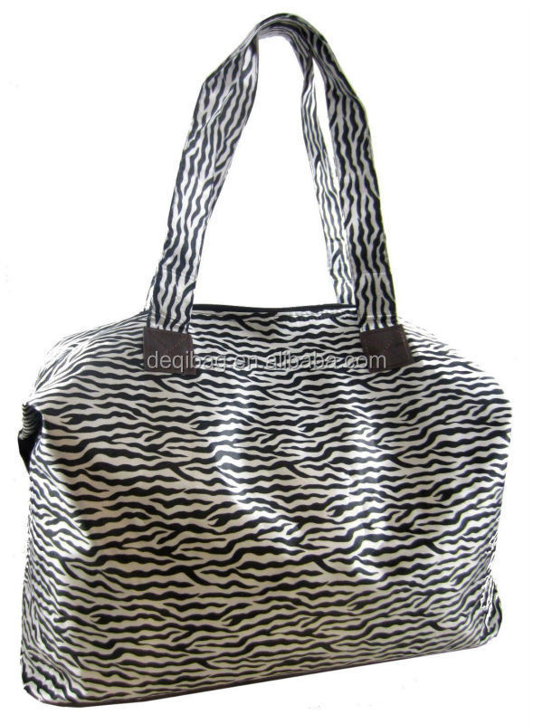 New Large Fashion Micro Tote Hand Bag for Women Zebra Print