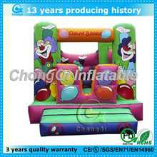High quality whole printed cartoon jumping inflatable bouncer