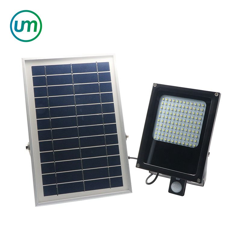 120 LED 3528 SMD Solar Light 6V 6W Solar Panel Motion Sensor LED Floodlight for Indoor & Outdoor