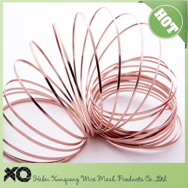 anodized flat aluminum craft wire