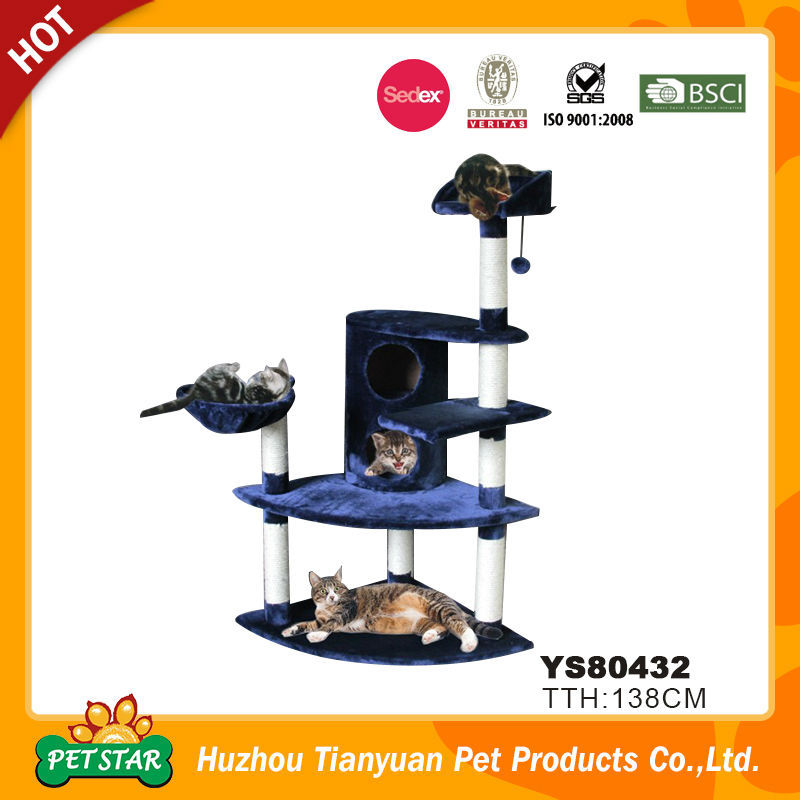 Indoor Cat Tree House, Wholesale Cat Tree Scratching Post