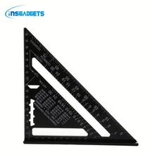 best selling measuring ruler set fWSh0t triangular metal garment ruler for sale