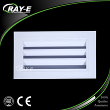 Factory direct supply ventilation waterproof adjust air vent for HAVC system aluminum louver