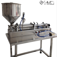 cosmetic,pharmacy industrial gel filling machine with table
