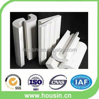 Big size calcium silicate insulation section pipe for oil pipeline