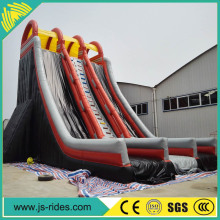 Outgoing equipment inflatable tool giant inflatable water slide for adult