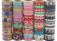 Decorative Japanese custom printed washi tape wholesale ,new products