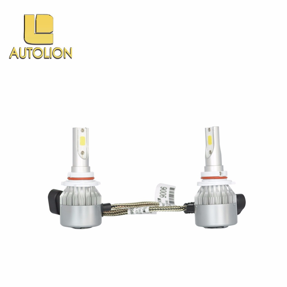 auto parts, Super bright led headlight bulb cob led bulbs h7 car headlight led 9006 9005