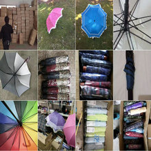 1.25 USD Assorted Stock Available Exporting Umbrella/ Beach Umbrella (gdzw165)