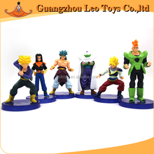 Top Selling Collection Anime Figure Plastic Miniature Toys