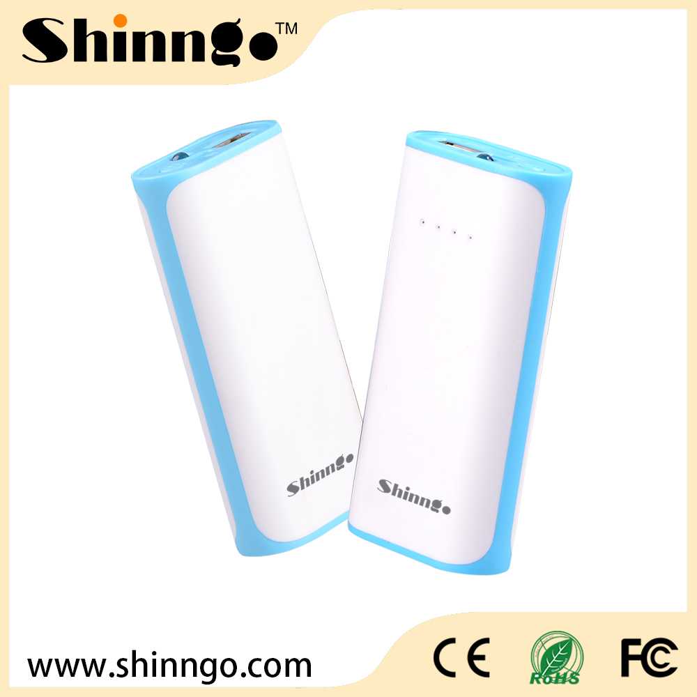 Shinngo Lithium battery External Battery 5200mAh Factory Universal Portable Power Bank Charger for tablet, mobile,etc