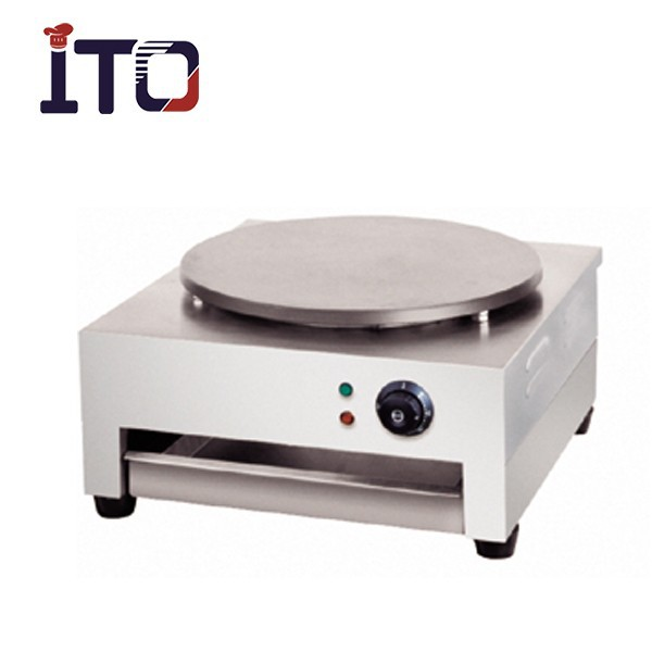 SH-CM1 Table Counter Top Single Head Stainless Steel Automatic Electric Commercial Crepe machine for Sale (1 Plate/Head )