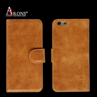 "Wallet opening premium leather mobile phone case 5"" inch leather case"