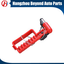 High quality car seat belt cutter with safety hammer emergency escape urgent accessory
