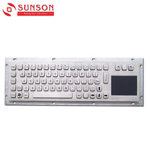Metal Keyboards for Fuel Dispenser, Kiosk and Industrial Equipment