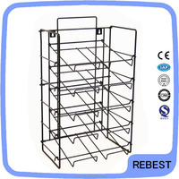 New product book display stand wire rack