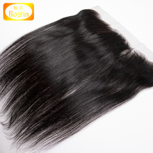 No shedding No Tangle Indiian Virgin Human Hair Preplucked Transparent Swiss Lace Frontal