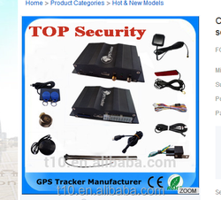 GPS Tracking Function and Gps Tracker Type Vehicle Speed Limiter GPS Tracker