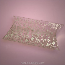 custom printed pillow box,clear plastic pillow boxes