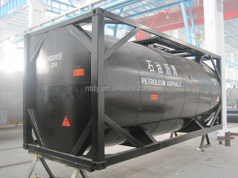 T3 Cut back bitumen tank container