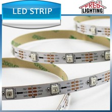 Hot sale 5m 5V 60 pixels addressable dream color ws2812b led strip with CE ROHS