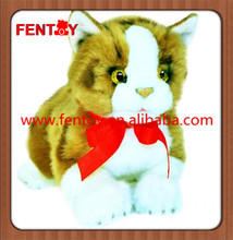 Cat Kitten Ginger kitten soft plush toy with factory price high quality