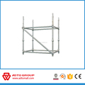 Powder Painted Galvanized Cuplock Scaffolding Standard