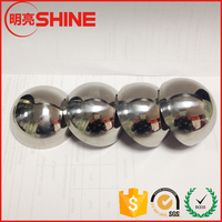customized 19mm to 3000mm various sizes stainless steel half metal sphere