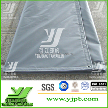 fire retardant 1000D pvc vinyl fabric truck tarpaulin covers