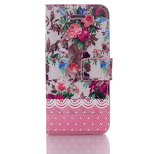 OEM Leather Case for apple iphone 5s Ladies Fashion Pouch