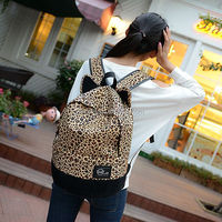 Fashion backpack for girls / travel backpack