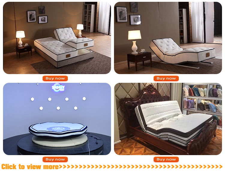 Dream collection memory foam mattress adjustable