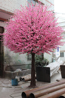 Online Buy Wholesale artificial peach blossom tree from China