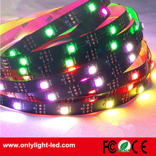 china manufacturer 5050 rgb ws2812b 5v led strip 150led 150IC Non-waterproof IP20 led flexible strip light