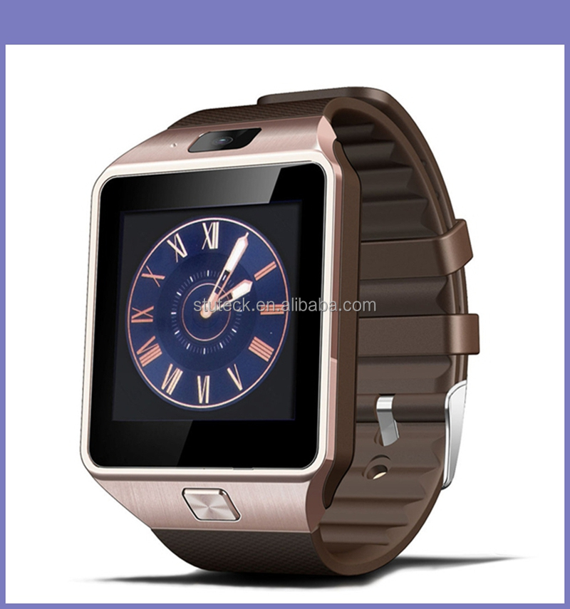 Colors 1.56 Inch HD Capacitive Touch Screen LCD Bluetooth Sim Card Android Phone KW88 Smart Watch