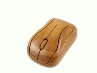 Healthy Sweat-resistant Anti-radiation Wireless Bamboo Computer Mouse